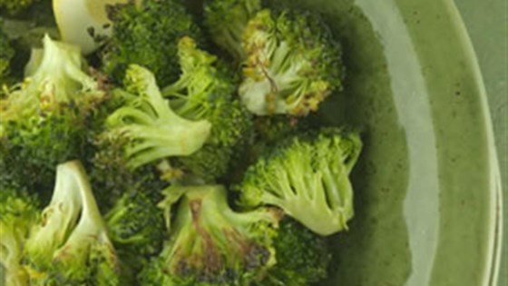 Photo of Roasted Broccoli with Lemon - Duplicate by EatingWell.com