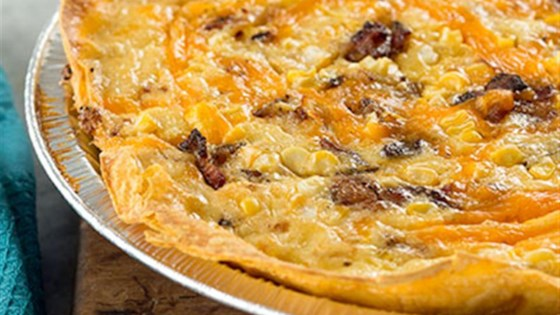 Photo of Bacon and Cheddar Cheese Quiche by Reynolds Kitchens®