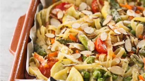Photo of Baked Pasta Primavera by Reynolds Kitchens®