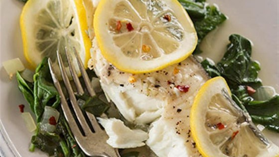 Photo of Easy Lemon Halibut by Reynolds Kitchens®