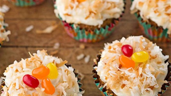 Photo of Lemon Frosted Carrot Cake Cupcakes by Reynolds Kitchens®