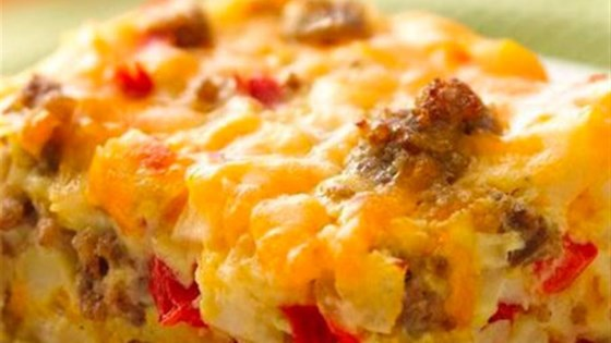Photo of Gluten-Free Impossibly Easy Breakfast Bake by Bisquick
