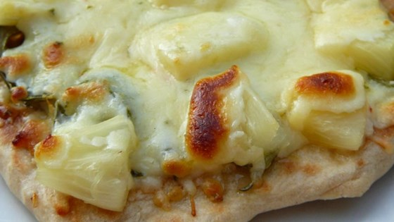 Photo of Pineapple Jalapeno Pizza by Catherella1