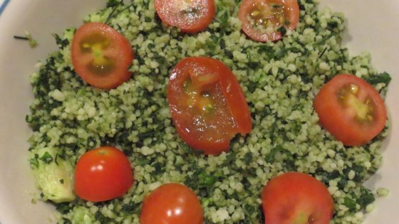 Photo of Kale Tabouleh Salad by orangejellybean