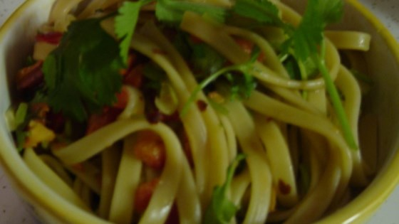 Photo of Chinese Cold Pasta Salad by Julie MacLaren