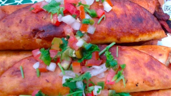 Photo of Spicy Alfredo Chicken Bacon Taquitos by Patty Cakes