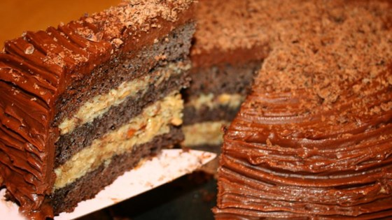 German Chocolate Cake III Recipe Allrecipescom