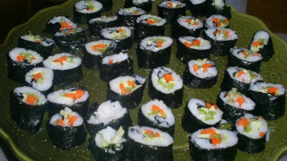 Photo of Vegetarian Nori Rolls by Anne Buchanan