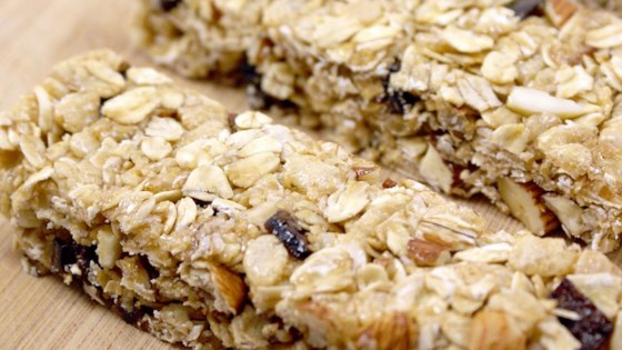 Photo of Chewy No Bake Granola Bars  by Dana