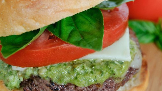 Photo of Caprese Burger by Sarah Stephan