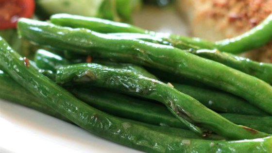 Photo of Grilled Green Beans by Kassie Calvin Caminiti