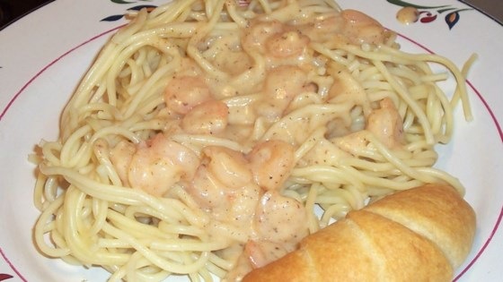 Photo of Creamy Cajun Shrimp Pasta by C