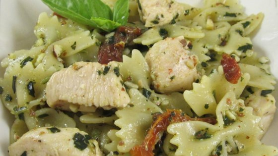 Photo of Pesto Pasta with Chicken by Kristin