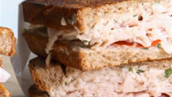 Photo of Turkey and Tomato Panini by Breana Lai, M.P.H., R.D.