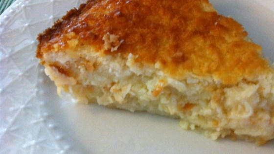 Photo of No Crust Coconut Pie by Amanda
