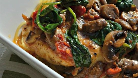 Photo of Chicken Marsala Florentine by SHANOU