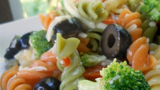 Photo of Rainbow Pasta Salad I by CESTIE