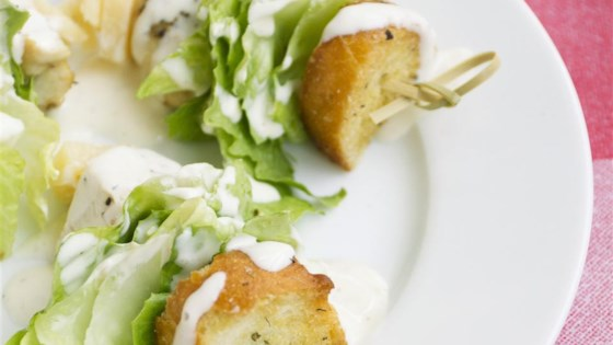 Photo of Chicken Caesar Salad on a Stick by Lindsey