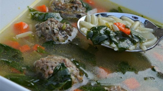 California Italian Wedding Soup