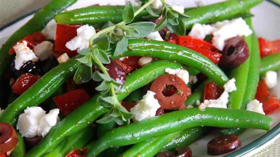 Photo of Marinated Green Beans with Olives, Tomatoes, and Feta by Lynne23235
