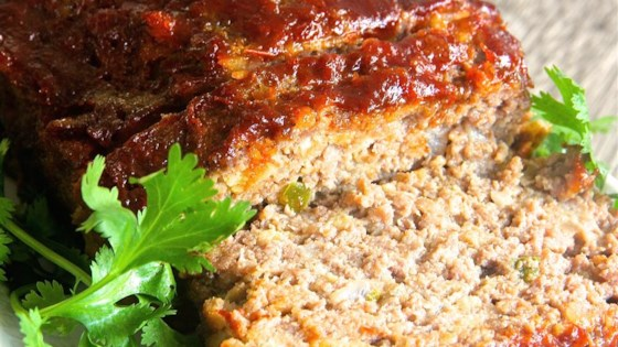 Photo of Brown Sugar Meatloaf with Ketchup Glaze by Shell Hargis