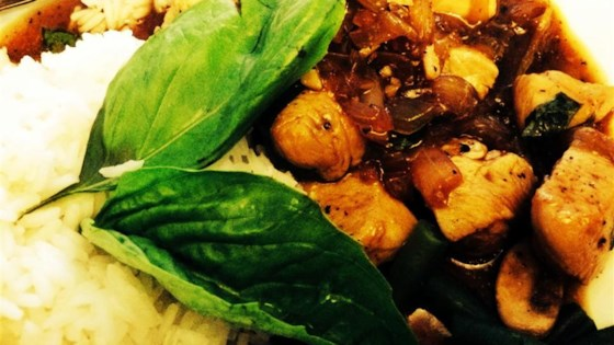Photo of Spicy Basil Chicken by Zfamily