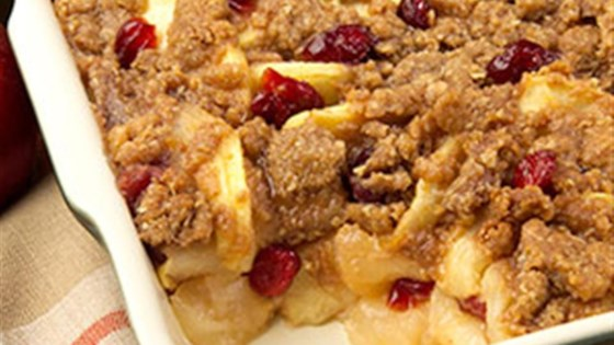 Photo of Apple-Cranberry Crisp by PAM® by Pam Cooking Spray
