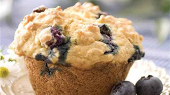 Photo of Blueberry Lemon Yogurt Muffins by PAM® Cooking Spray