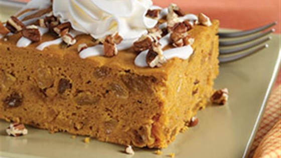 Photo of Iced Pumpkin Spice Cake by PAM® Cooking Spray