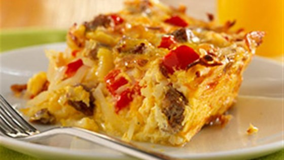 Photo of Potato, Sausage and Egg Breakfast Casserole by Pam Cooking Spray