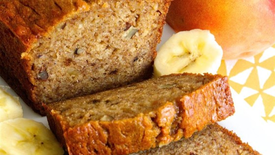 Banana Peach Bread Recipe