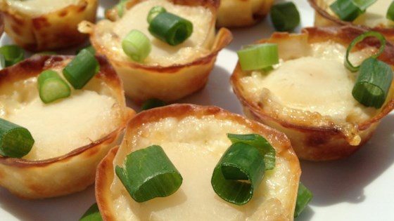 Photo of Crab Wonton Cups by Debi S.