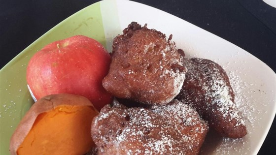 Photo of Sweet Potato and Fruity Fritter by I Love to Eat