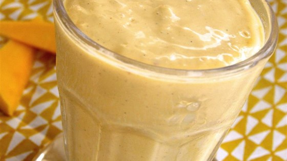 Photo of Peanut Butter Mango Smoothie by Avocado_Head_Mom