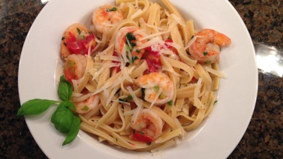 Photo of Brandied Shrimp with Pasta by Steve Slayton