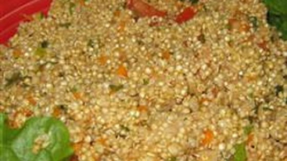 Photo of Tabbouleh Salad with Quinoa and Shredded Carrots by tax pro
