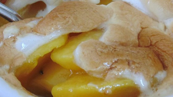 Photo of Roasted Marshmallow Peaches by Muddpuppy Royer