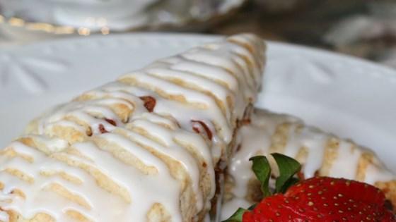 Photo of Hershey's® White Chocolate Cinnamon Scones by Sally Sibthorpe
