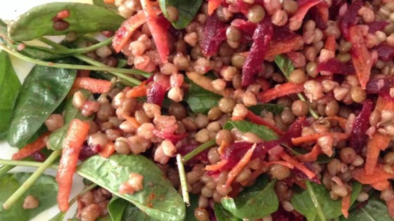 Photo of Lentils and Buckwheat Salad To Go (Gluten-Free) by Buckwheat Queen