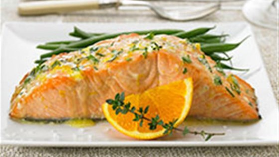 Photo of Herbed Citrus Salmon by Diamond Crystal Salt