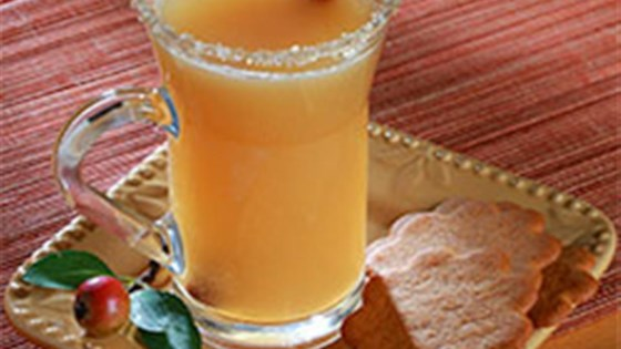 Photo of Caramel Apple Cider with Salty-Sweet Rim by Diamond Crystal Salt
