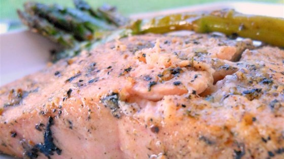 Grilled Dijon-Lemon Pepper Salmon Recipe