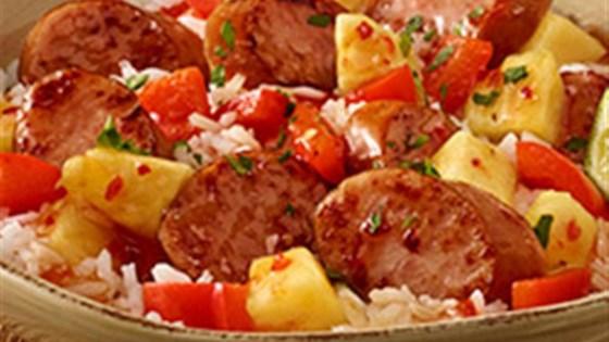 Photo of Hawaiian Pineapple Sweet & Sour Smoked Sausage by Hillshire Farm® Brand