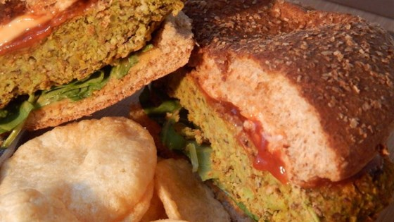Photo of Black Bean and Soy Veggie Burgers by Natty