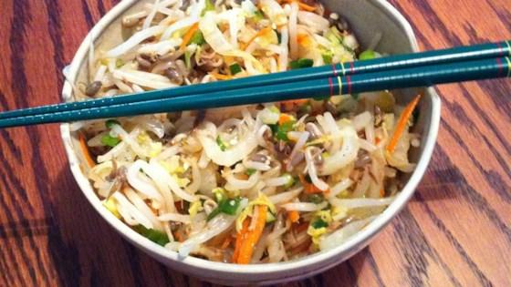 Photo of Korean Bean Sprout Salad by Ann