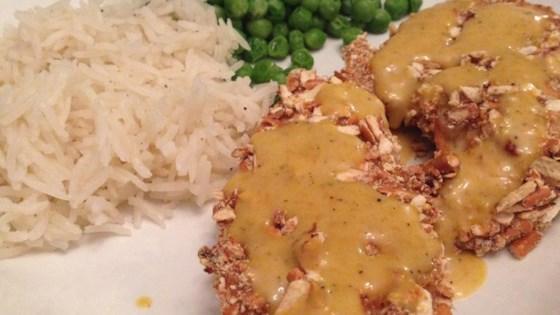 Photo of Honey Mustard Chicken with Pretzel Crust by Kathleen