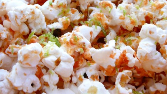 Photo of Sriracha-Lime Popcorn by ellie
