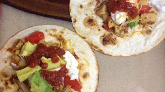 Photo of Low Fat Chicken Tostadas by Robyn Webb