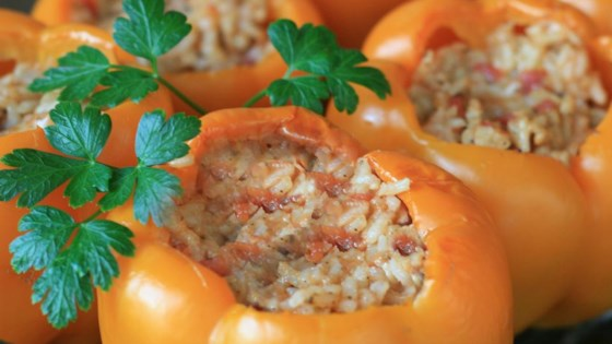 Photo of Stuffed Orange Peppers by kflamed13