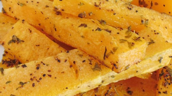 Photo of Healthier Butternut Squash Fries by hmstarr